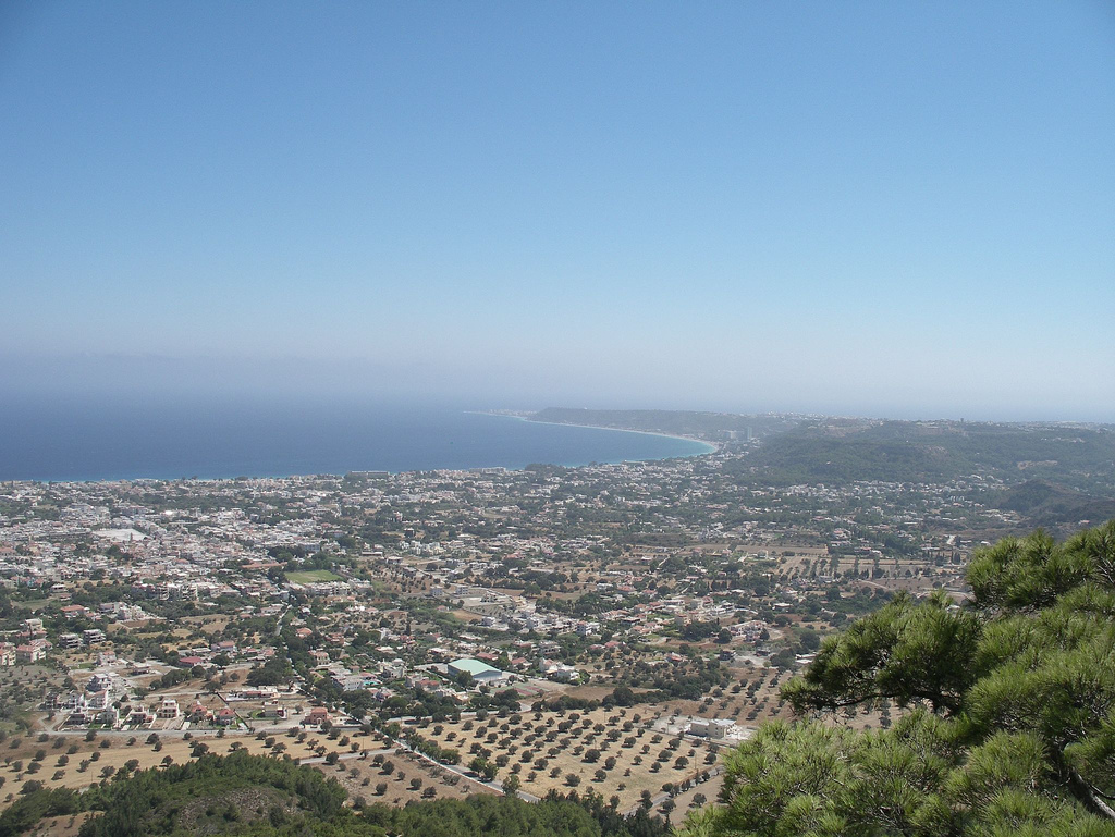 View from Mount Filerimos, Rhodes