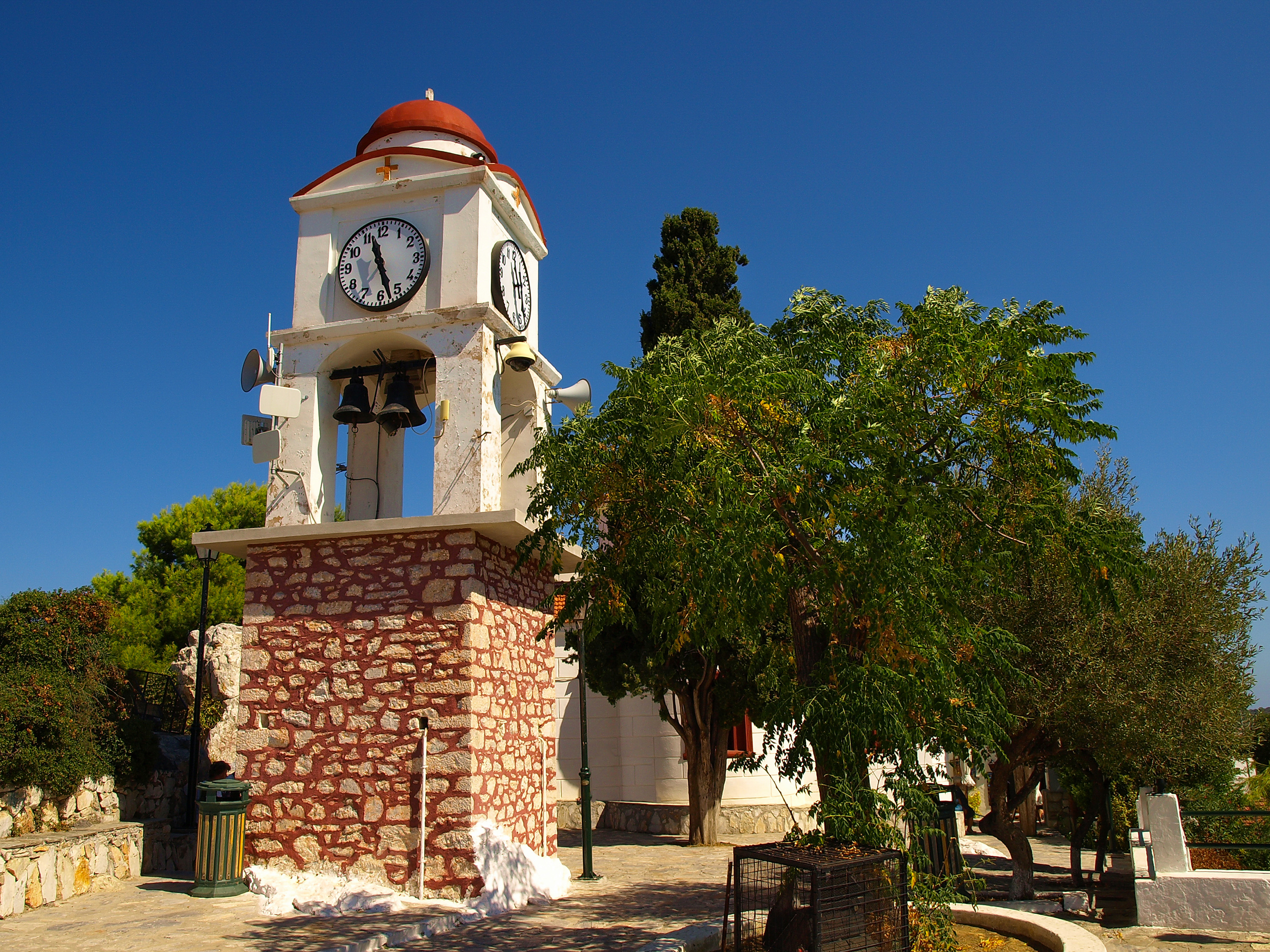 Agios Nikolaos Church, Skiathos. Mamma Mia! filming location.